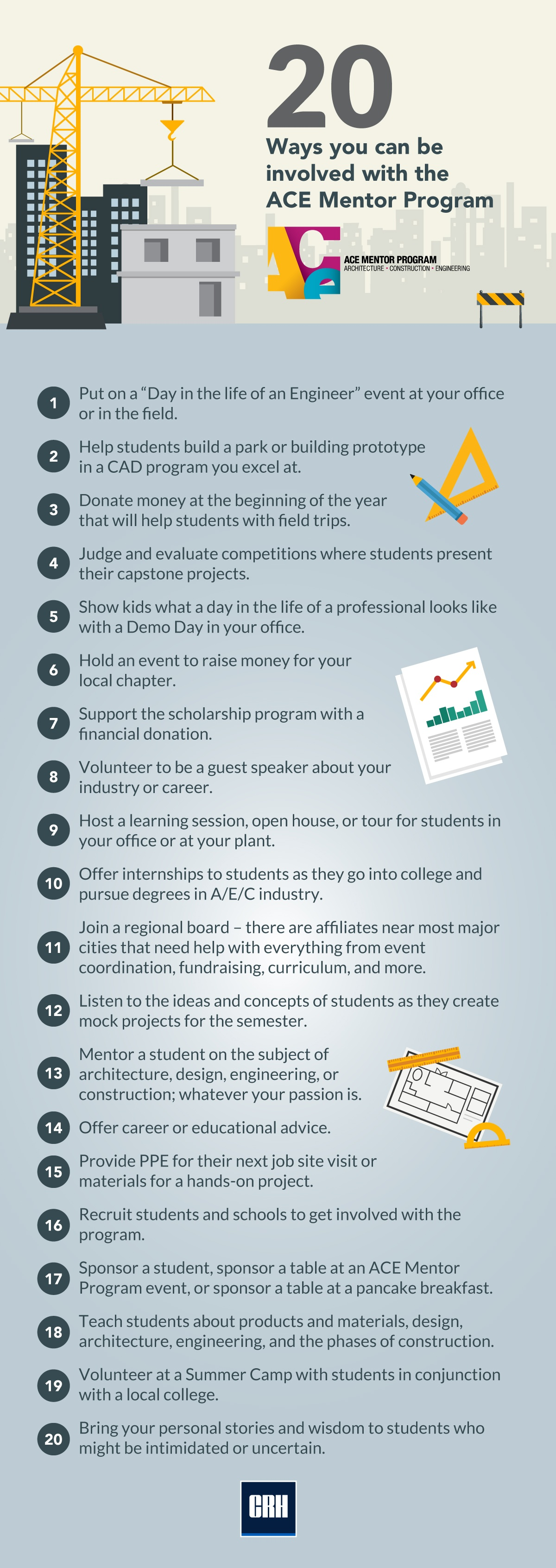 20 Ways to Get Involved with ACE
