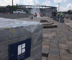 SunTrust Park and Belgard Products