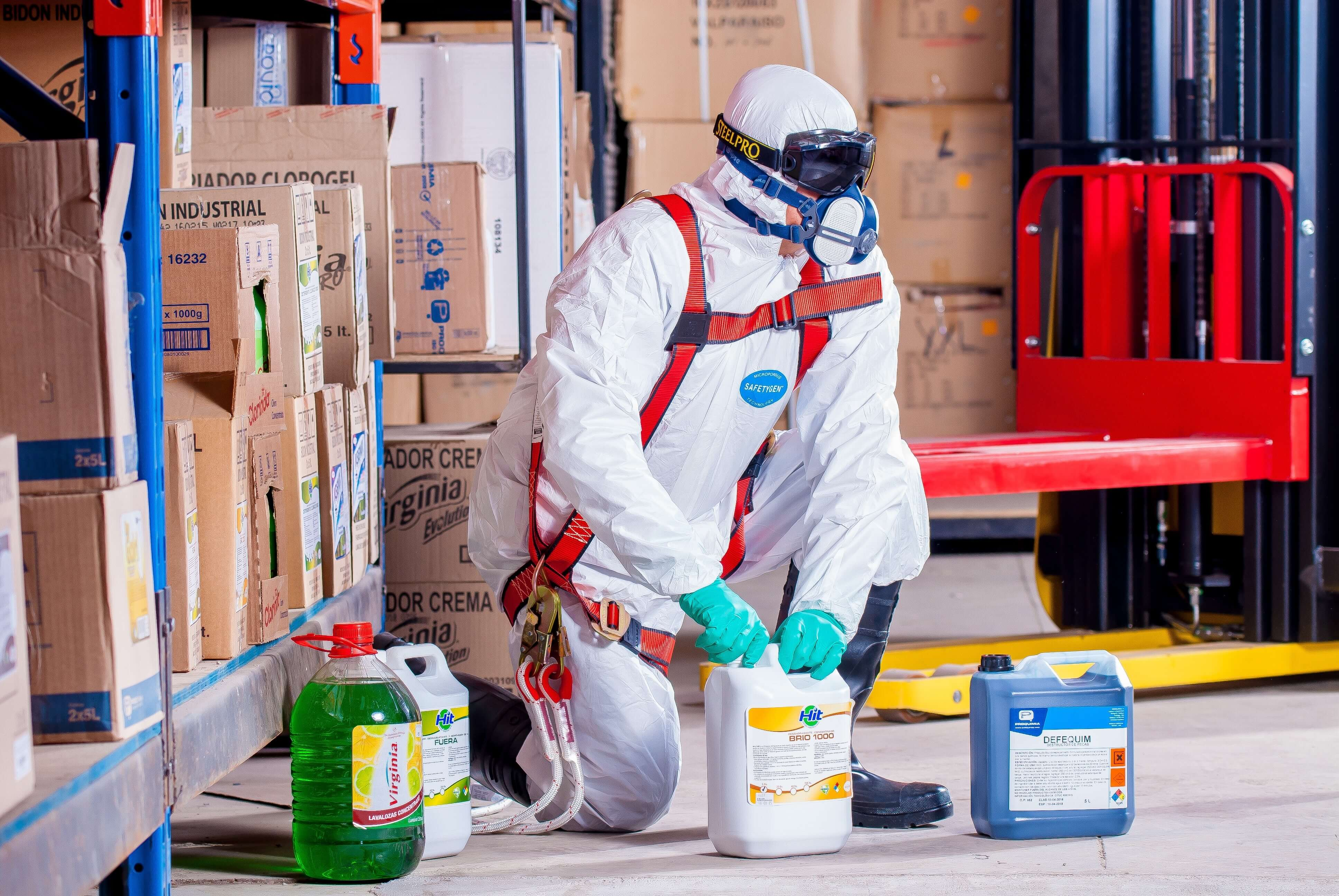 Identify health hazards in the workplace