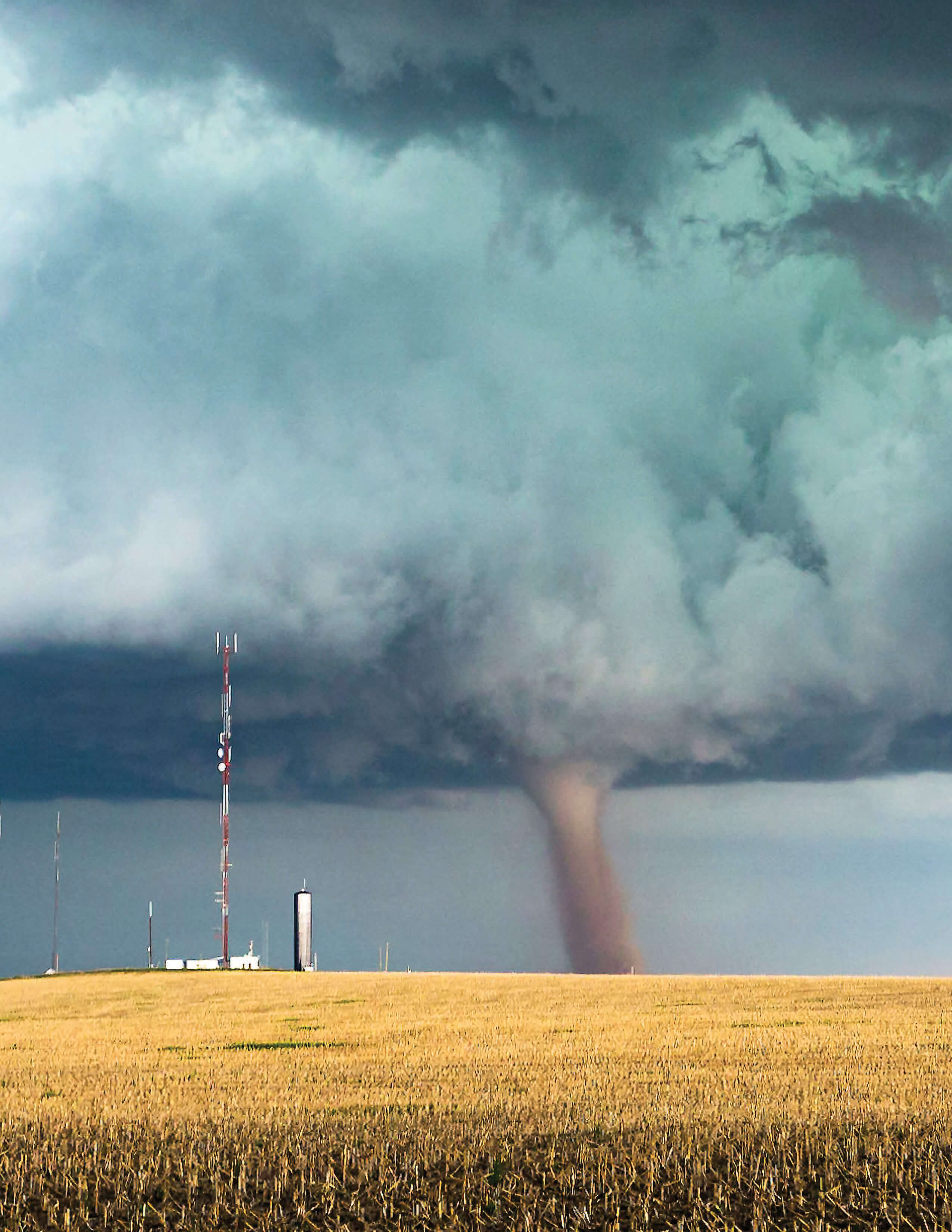 For a structure to be tornado-proof, it must be missile-proof.