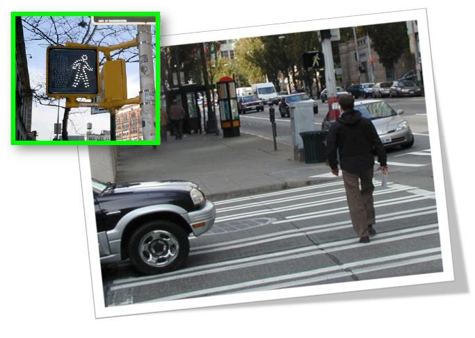 Illustrating the Cross Walk Effect