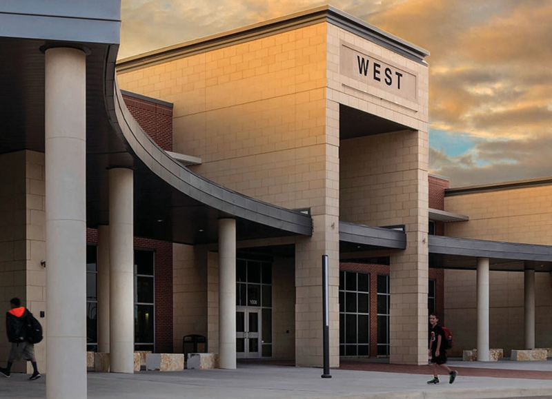Architectural-Masonry-West-School-District-Texas