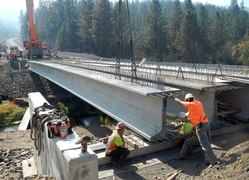Bridge-girder