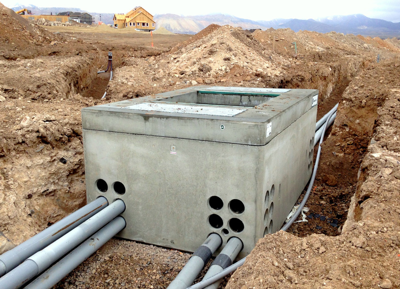 Utility-energy-vault