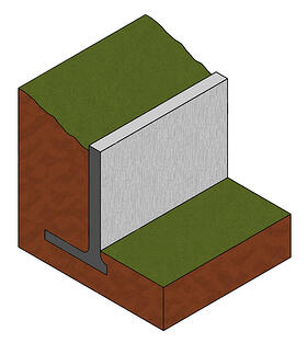 cantilevered-wall