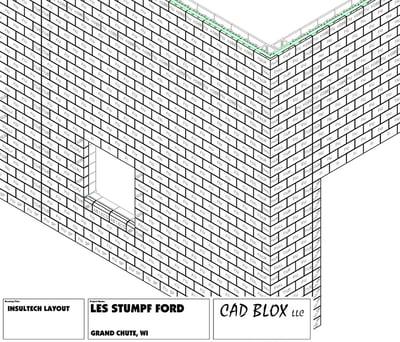 Echelon's Insultech CAD blox