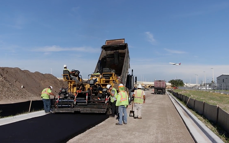Tampa Airport Paving
