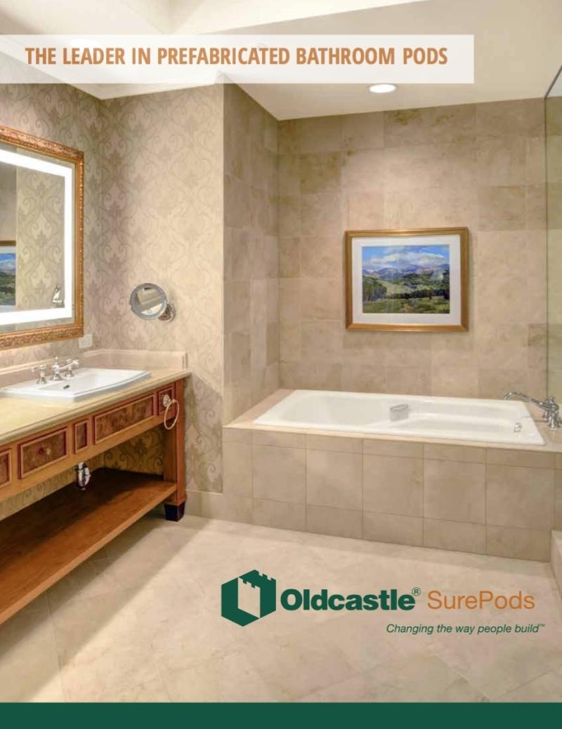 Surepod quality prefab bathroom pods Prefabricated bathroom pods suppliers