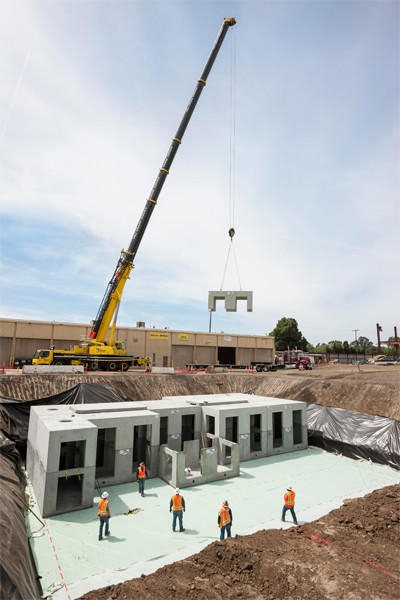 Stormwater management installation for the Expo Rail Operations and Maintenance Facility for the Exposition Metro Line Construction Authority (METRO)