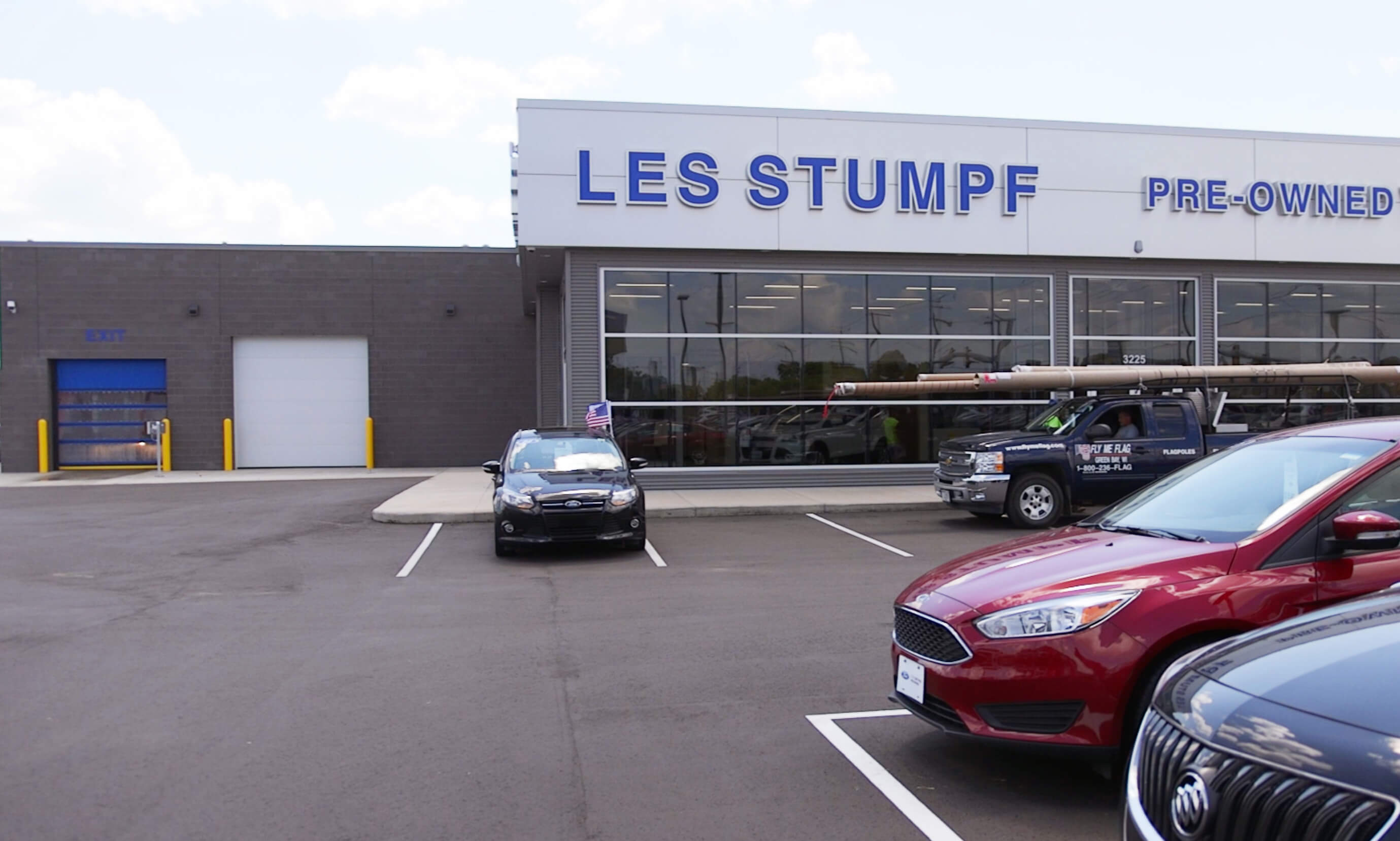 Insultech at Les Stumpf Ford Dealership