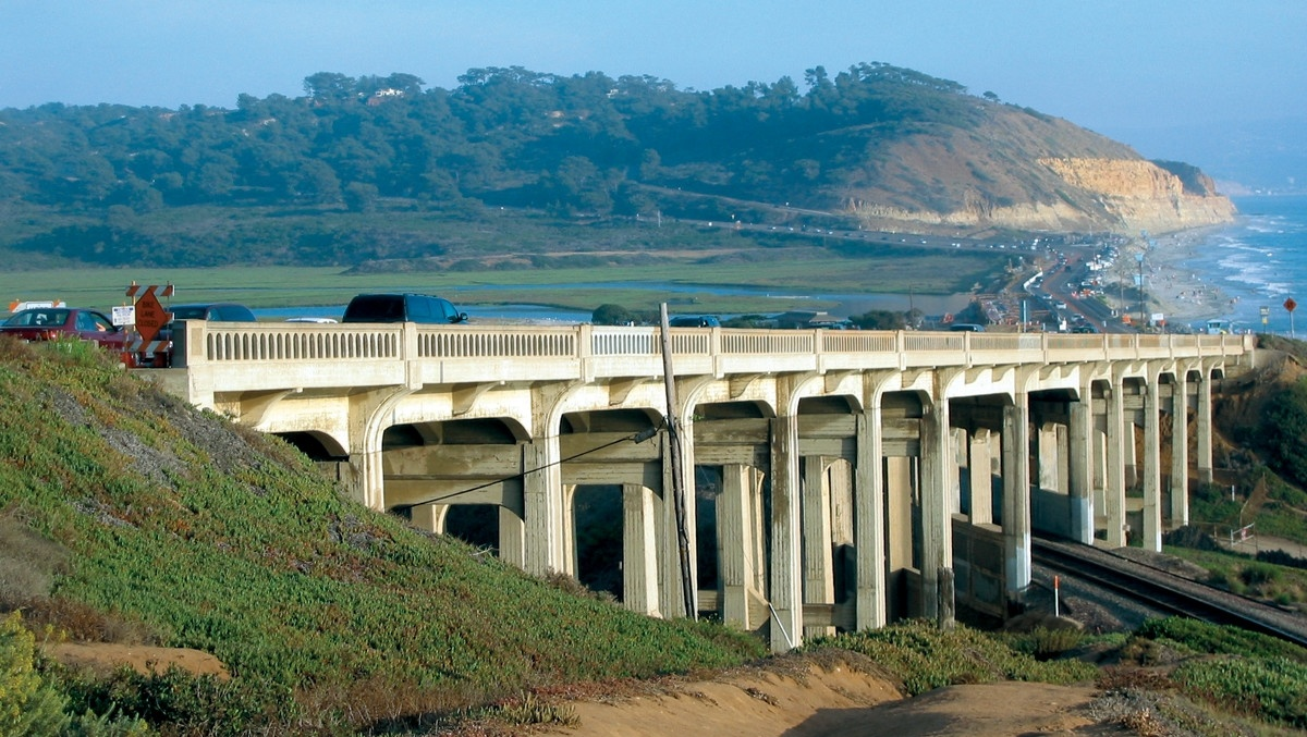 The Beautiful North Torrey Pines Road Bridge