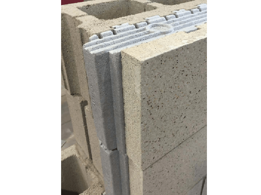 Echelon Insultech Blocks used at a Ford Dealership